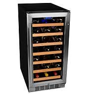 EdgeStar 30 Bottle Built-In Wine Cooler Refrigerator