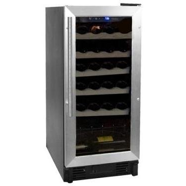 Haier HVCE15BBH Built-In or Freestanding 26-Bottle Wine Cellar