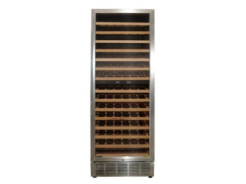 Vinotemp VT-188-MSW 160-Bottle Dual Zone Built-in Wine Refrigerator