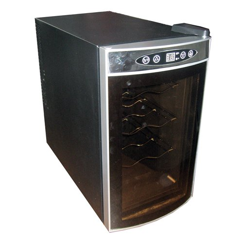 Koolatron WC08 Thermoelectric 8-Bottle Countertop Wine Cellar