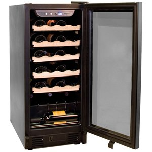 Haier 26 Bottle Built-In or Freestanding Wine Cellar Black